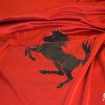 Ferrari colore Rosso Corsa con interni in pelle